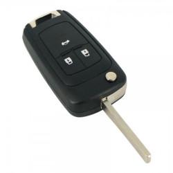 Opel, Chevrolet - Carcasa cheie tip briceag 3 butoane - inlocuieste cheia originala