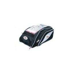 Pachet Geanta motocicleta 21 litri T-MAXTER, Lampa + Suport magnetic Tellur MCM3 pentru ventilatie, plastic, Negru