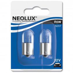 Set 2 Becuri auto auxiliare cu halogen Neolux R5W, 12V, 5W