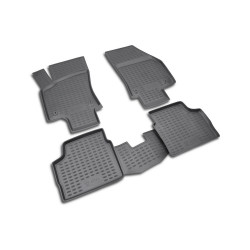 Set covorase auto Floor mats OPEL Astra H 2007- sed., 4 buc.