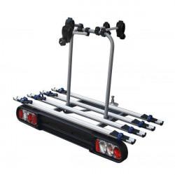 Suport biciclete M-Way Foxhound 4 pentru 4 biciclete cu prindere pe carligul de remorcare