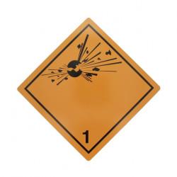 "Tablita placa avertizare marcaj ADR ""1"", Cargoparts"