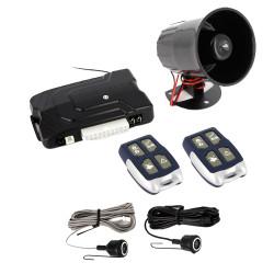 Alarma auto cu temporizare Carguard, AC-G600, senzor de ultrasunete