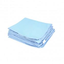 Laveta auto microfibra Kaja, 240g/m2, 40x40cm, albastru, 5pcs
