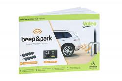 Sensor de parcare Beep & Park Parking Assistance System cu 8 Senzori si LCD Display