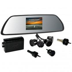 Senzori de parcare PNI P05, cu afisaj in oglinda si camera de mers inapoi