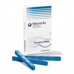 Set 3 rezervere odorizant auto original BMW Natural Air, aroma Energizing Tonic