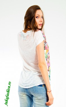 "Poze Tricou "" Butterfly "" by JukaFashion.ro cod 0785"