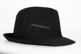 "Palarie Barbati Clasica ""Juka"" Black by JukaFashion.ro [2018]"