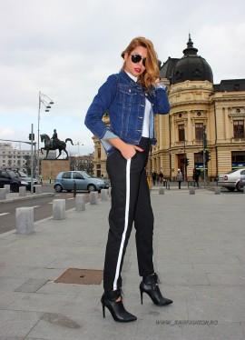 "Jacheta Jeans ""LaLa"" by JukaFashion.ro (2018)"