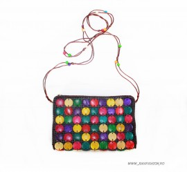 "Mini Bag tip Clutch ""Macarons"" by JukaFashion.ro (2018)"