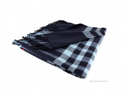 "Poze *Sal Esarfa Pashmina ""British"" Blue Edition by jukafashion.ro cod PRM1"
