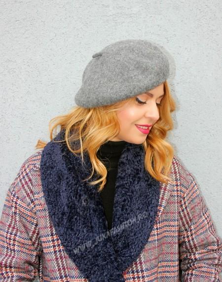 Cauti basca tipic frantuzeasca? Calitate la cel mai bun pret! basca dama fetru lana