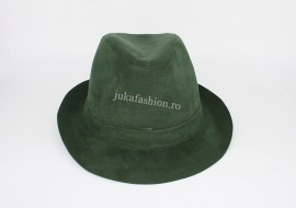 "Palarie Unisex Clasica ""Juka"" Green by JukaFashion.ro B00101"