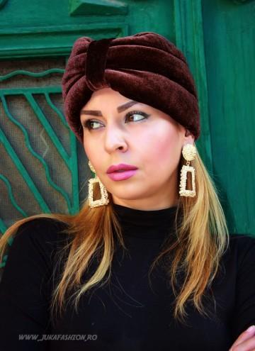 Cauti turbanul perfect? La noi sigur il gasesti! turban catifea elegant