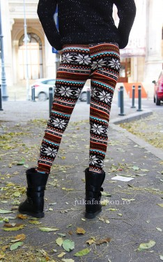 "Pantaloni Colant Tip Catifea ""Callie"" by JukaFashion.ro cod Z3"