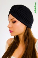 "Turban Dama ""Juka"" Black by JukaFashion.ro cod 0099"