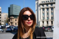 "Ochelari Soare Dama ""Chic Lady"" Black Edition by JukaFashion.ro cod B0066"