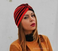"Turban Dama ""Juka"" Stripes by JukaFashion.ro cod 0095"