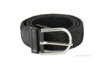 "Curea Dama Elastica ""Zig-Zag"" Black  by JukaFashion.ro cod X16"