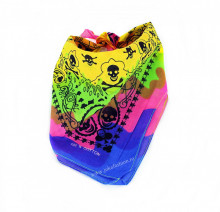 "Bandana Unisex ""Hippies"" by jukafashion"