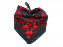 "Bandana Unisex ""Skull of Spades"" by jukafashion"