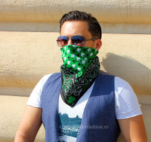 "Bandana Unisex ""Spades"" by jukafashion"