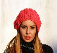 "Fes Dama ""Fucsia""  by JukaFashion.ro cod A4020"