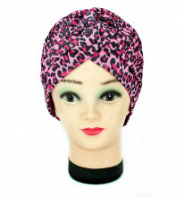 "Turban Femei ""Animal"" Violet by JukaFashion.ro (2018)"