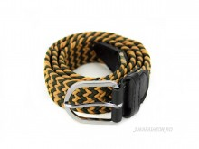 "Curea Dama Elastica ""Zig-Zag"" Gold by JukaFashion.ro cod X20"