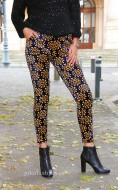 "Pantaloni Colant Tip Catifea ""Royal"" by JukaFashion.ro cod Z1"