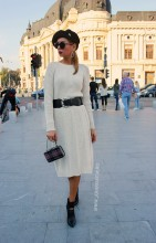 "*Rochie Dama ""Gemma"" Cream  by JukaFashion.ro cod G02"