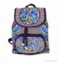 "*Rucsac Traditional ""Boho"" Blue by JukaFashion.ro cod [2018]"