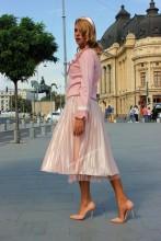 "*Bluza Dama ""Paris"" Pink by JukaFashion.ro (2018)"