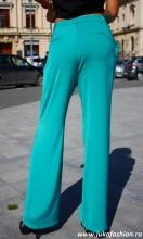 "Pantaloni Dama ""Axel"" Turcoaz Limited Ed. by JukaFashion.ro cod B023"