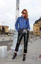 camasa jeans blugi dama femei