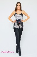 "OFERTA PROMO: Top  Dama Paiete "" Silver"" by JukaFashion.ro cod 9001"