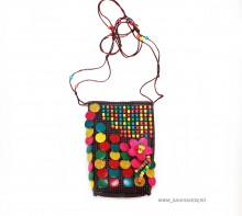"Mini Bag tip Clutch ""Bhoem"" by JukaFashion.ro (2018)"