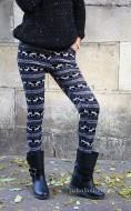 "Pantaloni Colant Tip Catifea ""Becca"" by JukaFashion.ro cod Z4"