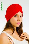 "Turban Dama ""Juka"" Red by JukaFashion.ro cod 0098"