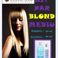 Kit par mediu/lung - pt par blond