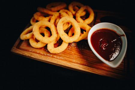 BBQ Onion Rings