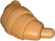 33125-29 Croissant Oranje, aardekleurig NIEUW loc