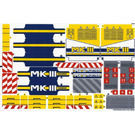 42055stk01b STICKER: Bucket Wheel Excavator NIEUW loc