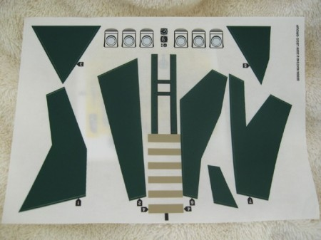 7683stk01 STICKER: Indiana Jones- Fight on the flying wing NIEUW *0S0000