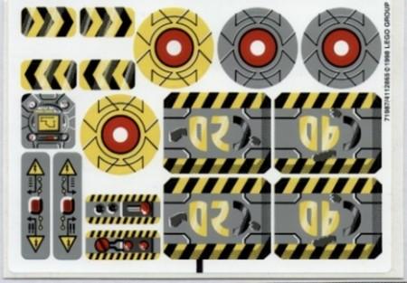 8482stk01 STICKER CyberMaster NIEUW *0S0000