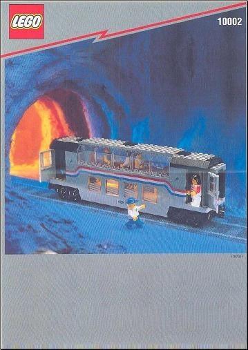 INS10002-G 10002 BOUWBESCHRIJVING- Railroad Club Car gebruikt *LOC M4