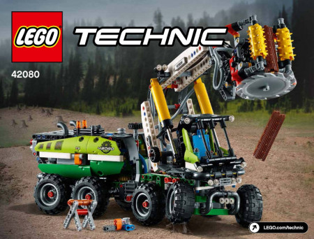 INS42080 42080 BOUWBESCHRIJVING- Forest Machine NIEUW *
