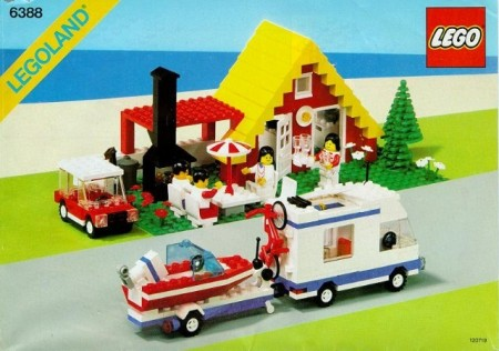 INS6388-G 6388 BOUWBESCHRIJVING- Holiday Home with Caravan gebruikt *LOC M2