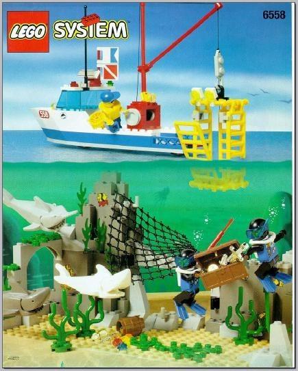INS6558-G 6558 BOUWBESCHRIJVING- Shark Cage Cove gebruikt *